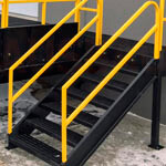 3. Eine Treppe zur Plattform (OPT-LD).