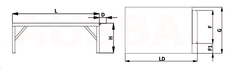 Verladeplattform AUSBAU-PLT
